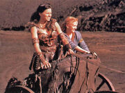 Xena and Gabrielle, Chariots of War