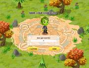 Create Character name