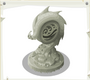 Aquatic Trapper Statue