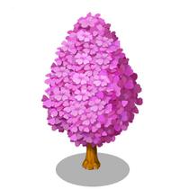 Pink Gingko Tree