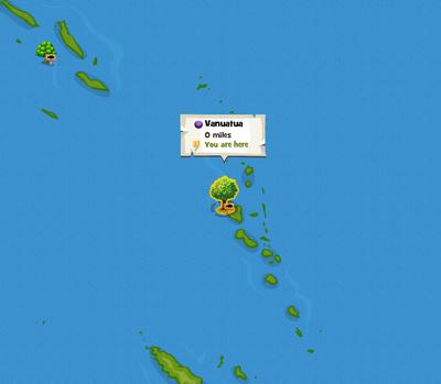 Vanuatua location