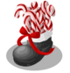 Candy Cane Boot