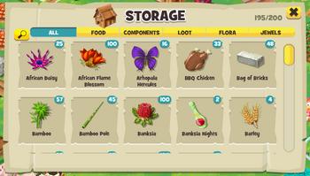 Barn storage