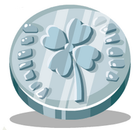 Silver Wishing Coin
