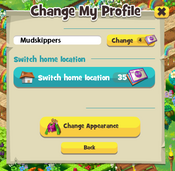 Change my profile