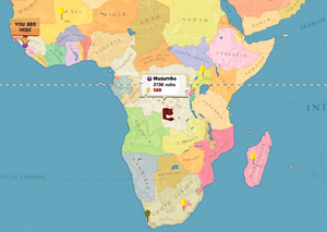 Musumba world map