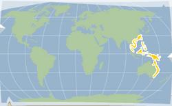 Mandarinfish location