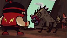 Hyena King 2D