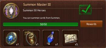 Summon master 3