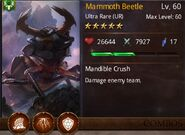 Mammoth beetle tier 2