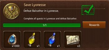 Save Lyonesse