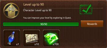 Level 90