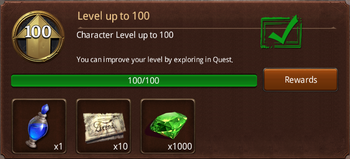 Level 100
