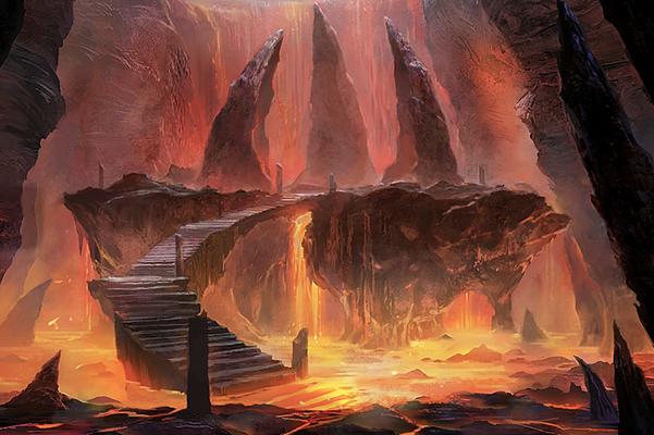 VolcanicIslandScene