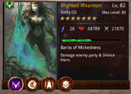 Blighted Rhiannon T2