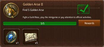 Golden Arse II