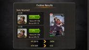 Warrior Monk evolve to evo2