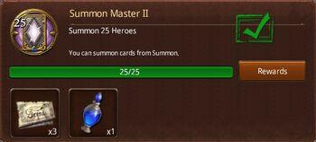 Summon master 2