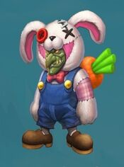 Gambler sick bunny skin