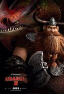 Stoick HTTYD2 poster