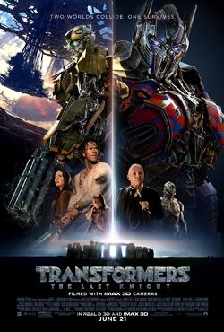 Transformers The Last Knight (2017) new Theatrical Release Poster
