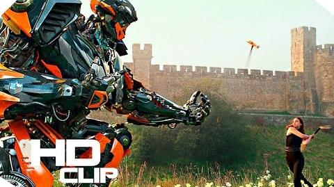 Transformers 5 The Last Knight Hot Rod and Bulldog Movie Clip