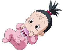 Pan baby dragon ball super by jaredsongohan-d9h85kz
