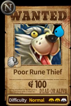 Poor Rune Thief Bounty Image