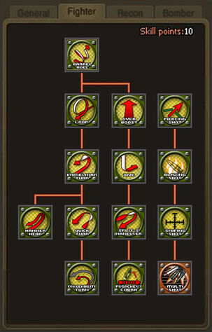 Skill Tree - Fighter