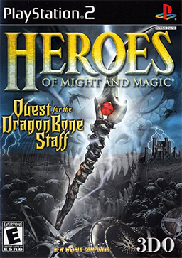 File:Heroes of Might and Magic - Quest for the Dragon Bone Staff Coverart.png