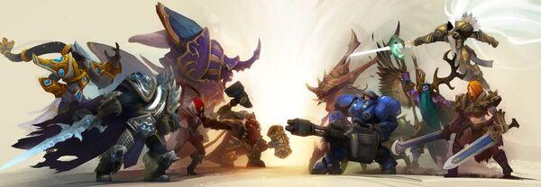 HeroesoftheStorm Heroes Art2