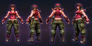 Sgt Hammer cosplay
