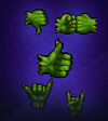 Orc Hand Symbol Pack 1