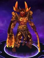 Malfurion - Druid of the Flame