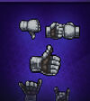 Gauntlet Hand Symbol Pack 1