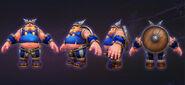 Lost Vikings - Olaf cosplay