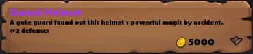 Guard Helmet 2