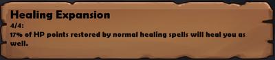 Healing Expansion Description