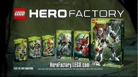 Hero Factory Witch Doctor battles Rocka (v2) HD