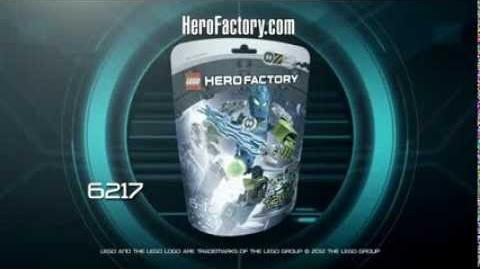 Hero Factory Character spot - Surge
