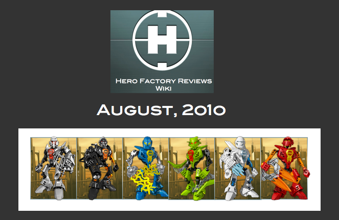 Hero Factory Reviews Wiki August
