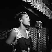 Billie Holiday Downbeat New York N.Y.