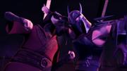 Splinter vs. Shredder