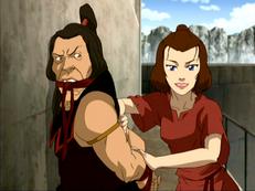 Suki captures the Boiling Rock warden