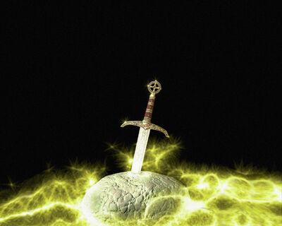 Sword-in-the-rock