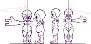 Gemstone Dwarfs Modeling