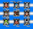 Mega Man 4 Stage Select