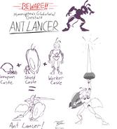 Ant Lancer concept art