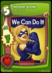 Ms Marvel - Marvelous Strength