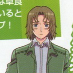 Lithuania in casual clothing from the anime.